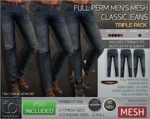 Display CLASSIC Jeans - TRIPLE