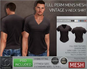 Display Vintage VNeck