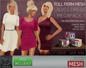 Ladies Dress Megapack1