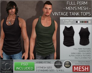 Display VINTAGE Tank Top