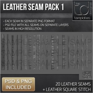 Leather Seam Pack DISPLAY