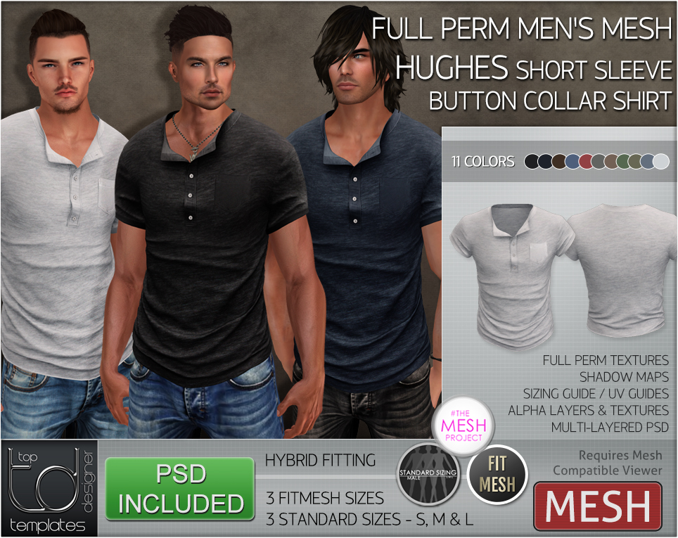 19d914fbfa5 TD Templates | Clothing Templates For SL